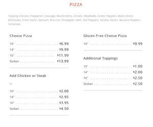 pizza 32901